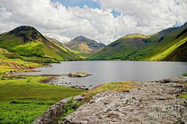 Photograph - Wastwater And Lake District Fells by Martyn Arnold