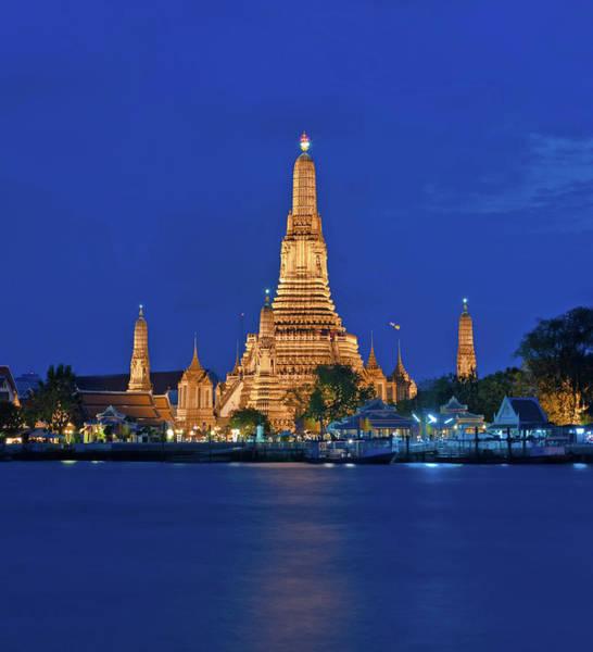Thai Photograph - Wat Arun by Photography Aubrey Stoll