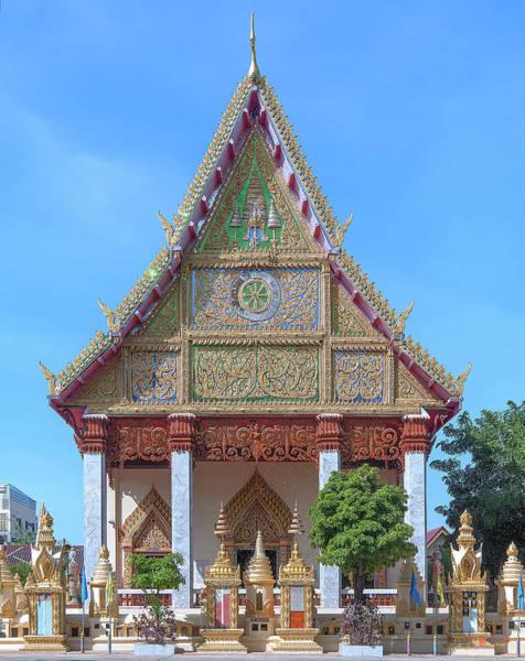 Photograph - Wat Liab Phra Ubosot Dthu0743 by Gerry Gantt