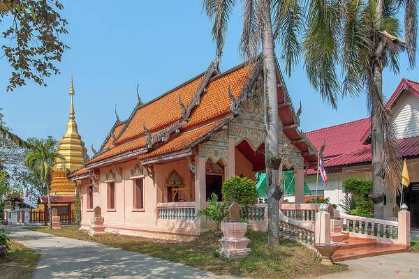 Photograph - Wat Pa Chai Mongkhon Phra Ubosot Dthla0123 by Gerry Gantt