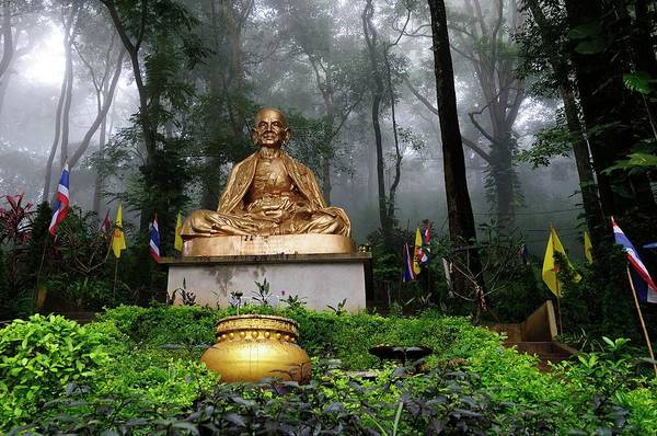 Chiang Mai Province Photograph - Wat Phrat That Doi Suthep In Chieng Mai by By Svein Haakon Olaisen