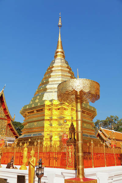 Chiang Mai Province Photograph - Wat Phrathat Doi Suthep, Thailand by Ivanmateev