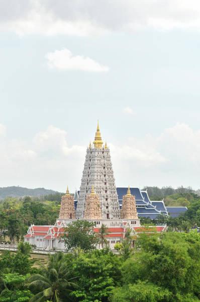 Public Places Wall Art - Photograph - Wat Yansangwararam Thailand by Joesboy