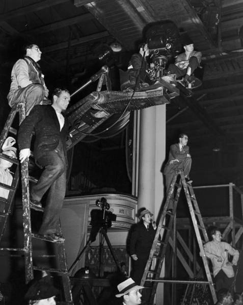 Photograph - Watching The Action by Hulton Archive
