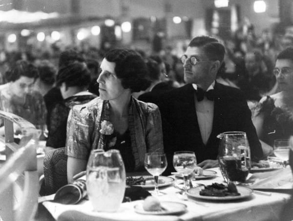 Watching Photograph - Watching The Cabaret by Kurt Hutton