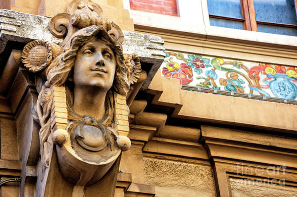 Photograph - Watching You From The Gambrinus Building In Florence by John Rizzuto