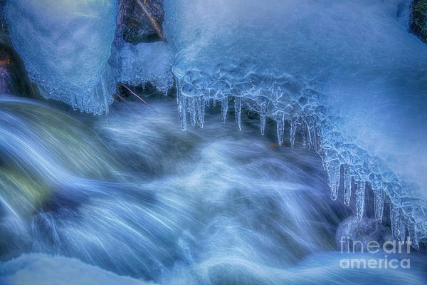 Wall Art - Photograph - Water And Ice 6 by Veikko Suikkanen