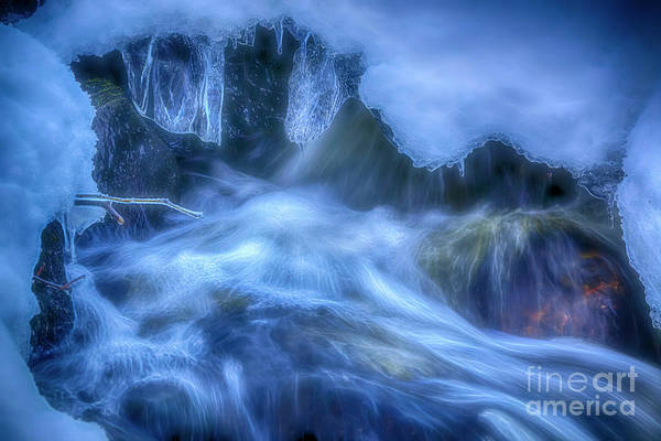 Wall Art - Photograph - Water And Ice 7 by Veikko Suikkanen