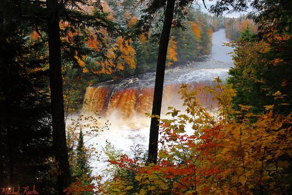 Wall Art - Photograph - Water Falls Of Michigan by Michael Rucker