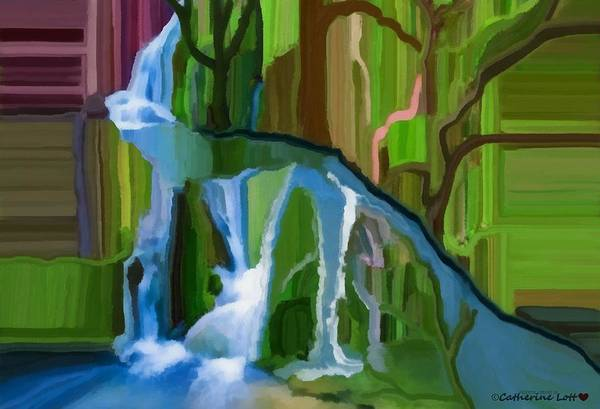 Digital Art - Water Felt-a Dreamy Version Collection by Catherine Lott