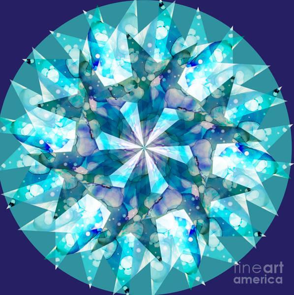Digital Art - Water Kaleidoscope by Shelley Myers