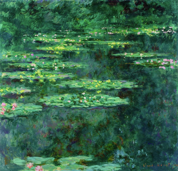 Wall Art - Painting - Water Lilies 1904 - Digital Remastered Edition by Claude Monet