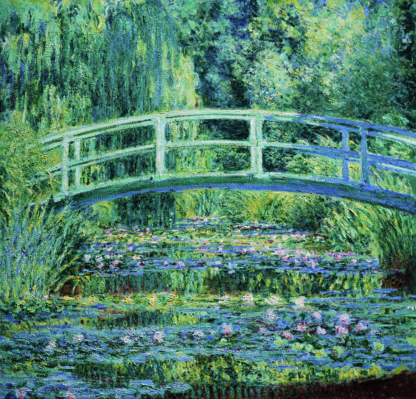 Wall Art - Painting - Water Lilies And Japanese Bridge - Digital Remastered Edition by Claude Monet