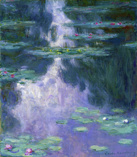 Wall Art - Painting - Water Lilies 1907 - Digital Remastered Edition by Claude Monet