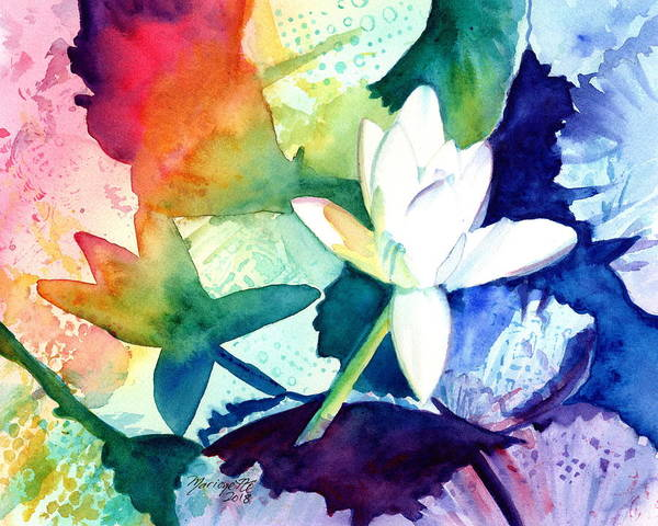 Painting - Water Lily Fun by Marionette Taboniar