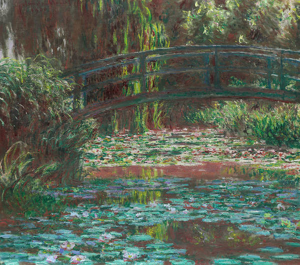 Painting - Water Lily Pond, 1900 by Claude Monet
