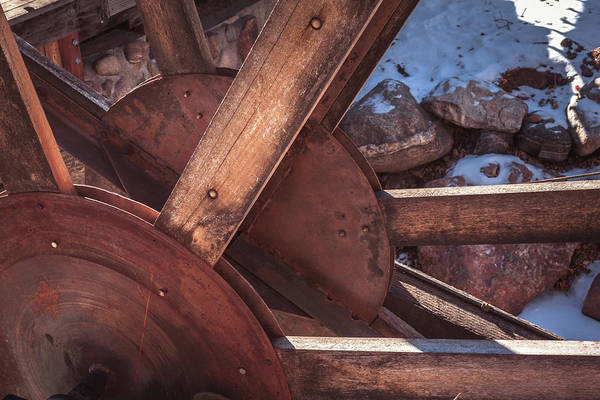 Photograph - Water Mill On Big Thompson River by Jeanette Fellows