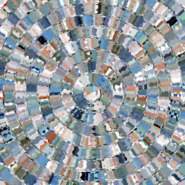 Water Mosaic Art Print