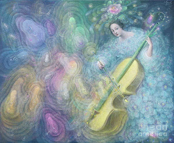 Wall Art - Painting - Water Music by Annael Anelia Pavlova