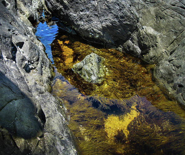 Photograph - Water On The Rocks 13 by Juan Contreras