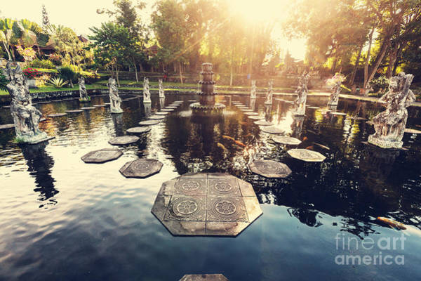 Wall Art - Photograph - Water Palace, Bali, Indonesia by Galyna Andrushko