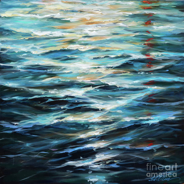 Painting - Water Reflections by Linda Olsen