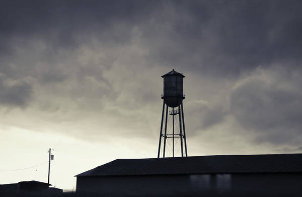 Photograph - Water Tower by Andrea Anderegg