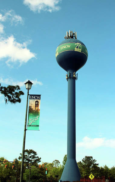 Photograph - Water Tower At Uncw by Cynthia Guinn