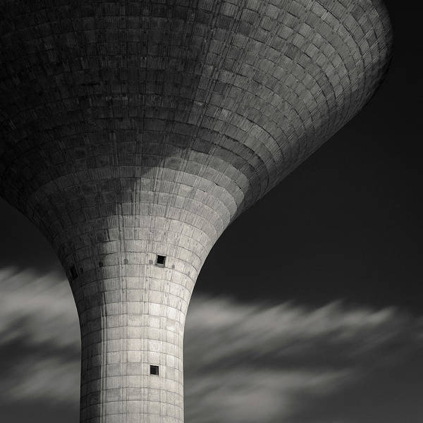Photograph - Water Tower by Dave Bowman