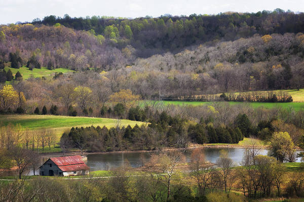 Photograph - Water Valley Barn by Susan Rissi Tregoning