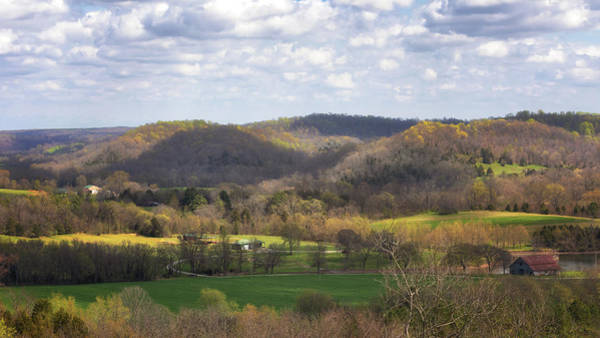 Photograph - Water Valley Overlook by Susan Rissi Tregoning