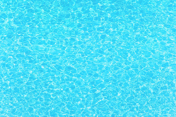 Texture Photograph - Water Wave Pattern Of Swimming Pool by Anddraw