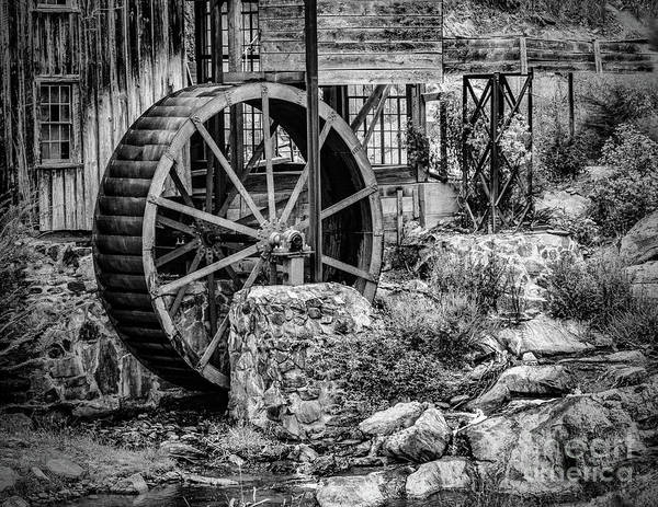 Photograph - Water Wheel In Georgia by Nick Zelinsky