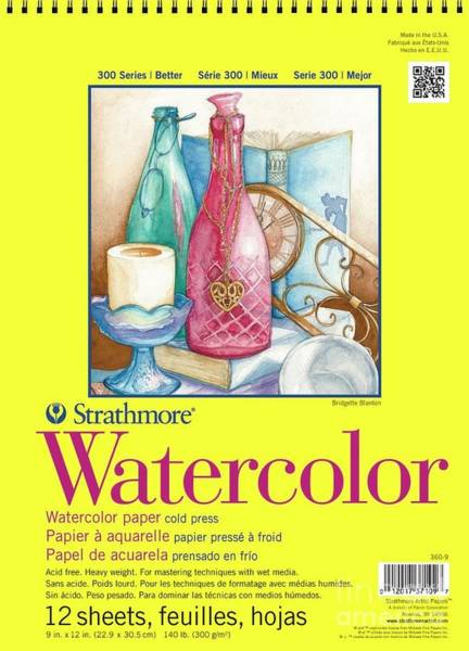 Painting - Watercolor 300  by STRATHMORE Artist Papers