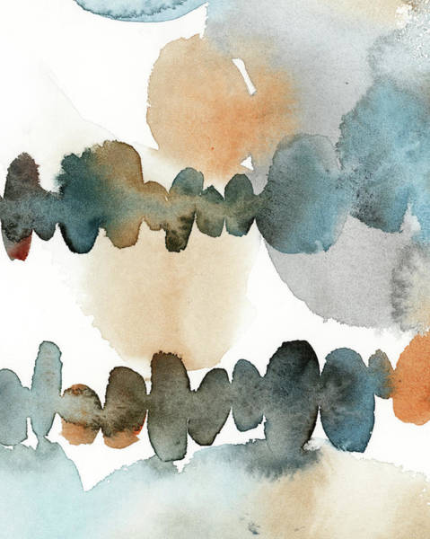 Wall Art - Painting - Watercolor Abacus Iv by Sophia Rodionov
