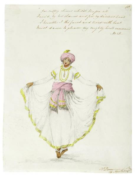 Wall Art - Painting - Watercolor Drawings By Rachel Welland, India, Company School, Late 18th Early 19th Century 4 by Celestial Images