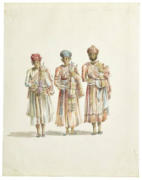 Wall Art - Painting - Watercolor Drawings By Rachel Welland, India, Company School, Late 18th Early 19th Century 8 by Rachel Welland