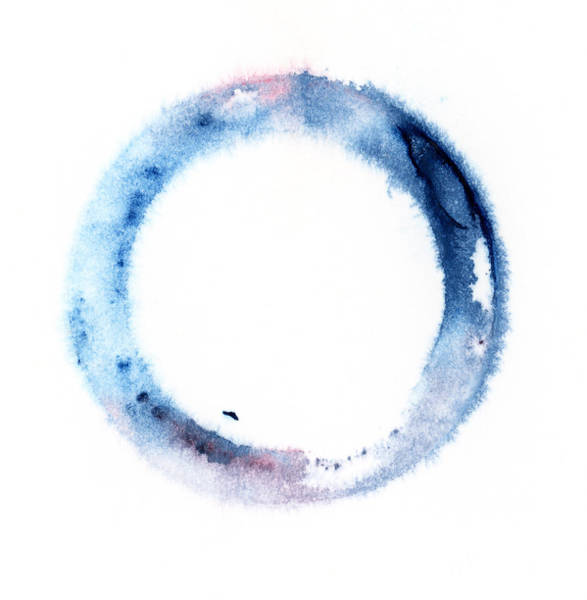Blob Photograph - Watercolor Ring by Alenchi