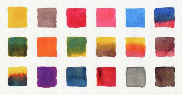 Art Object Digital Art - Watercolours On Paper by Mustafahacalaki