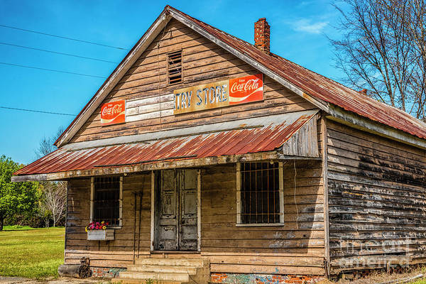 Photograph - Wateree Country Store  by Thomas R Fletcher