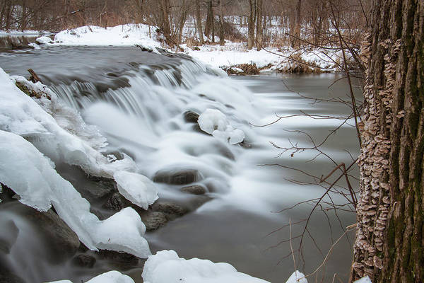 Bonneyville Mill Wall Art - Photograph - Waterfall At Bonneyville Mill by Jason Champaigne