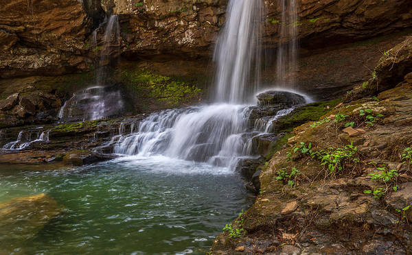 Cloudland Canyon Photograph - Waterfall At Cloudland Canyon State Park by Keith Smith
