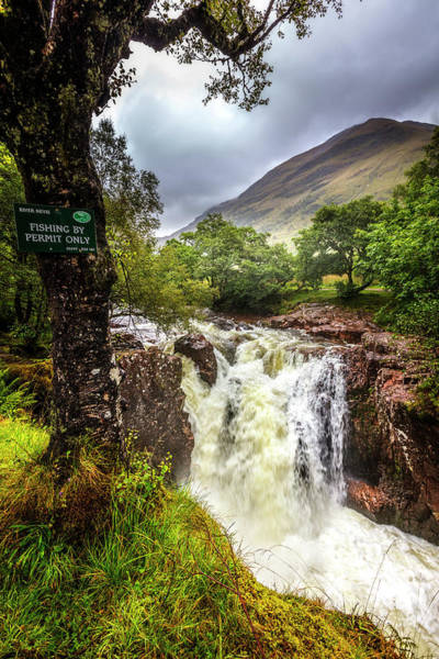 Photograph - Waterfall At The Ben Nevis Mountain by Debra and Dave Vanderlaan