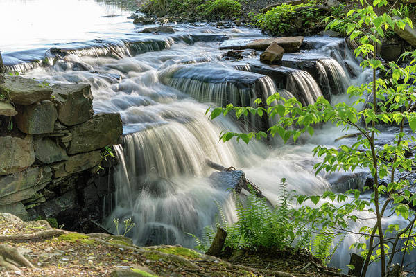Photograph - Waterfall At The Old Mill  by Kyle Lee