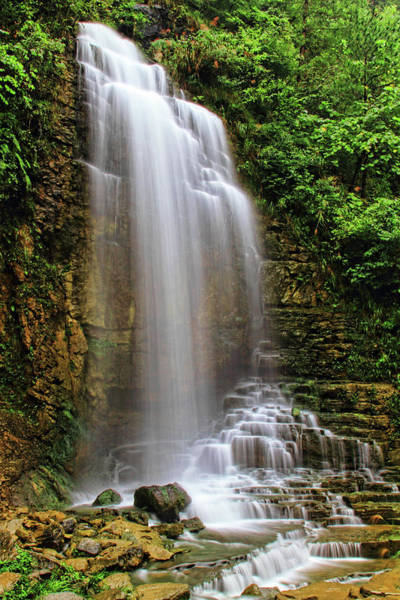 East County Photograph - Waterfall by By Ray Ghin