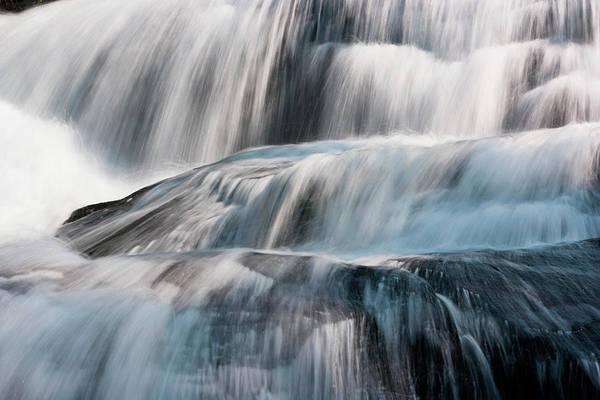 North Carolina Waterfalls Photograph - Waterfall, Grandfather Mountain State by Mint Images/ Art Wolfe