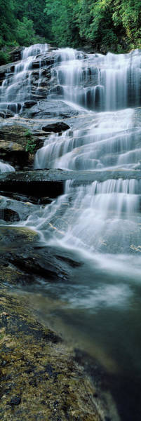 Wall Art - Photograph - Waterfall In A Forest, Glen Falls by Panoramic Images