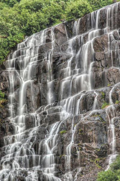 Photograph - Waterfall In Alaska by Jonathan Tucker