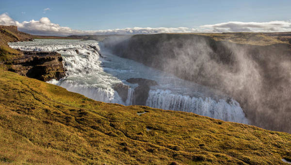 Photograph - Waterfall Mist Of Iceland by David Letts