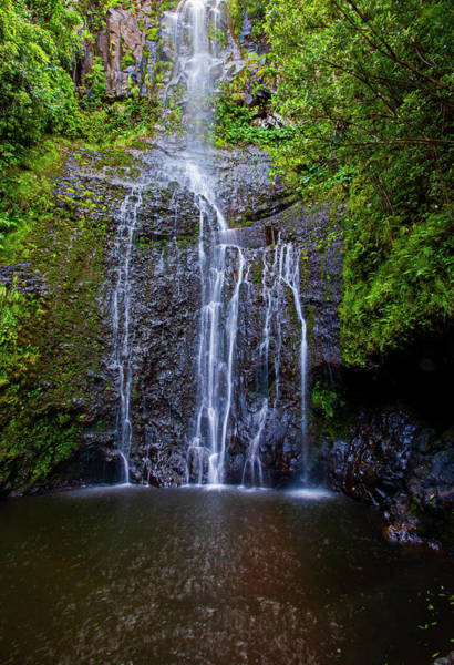 Photograph - Waterfall Pool by Anthony Jones